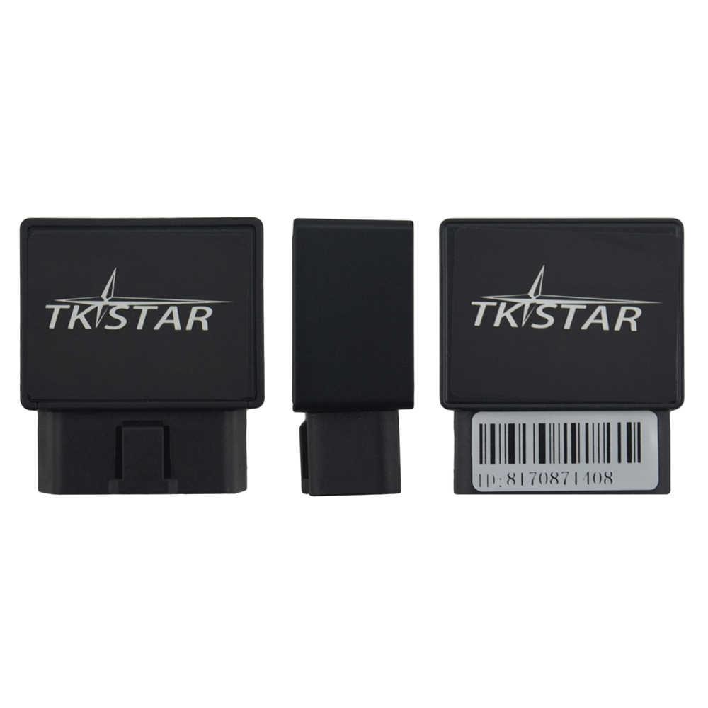 Автомобильный gps-Трекер OBD II, автомобильный телематический геозонатор GPS-трекер Tk Star Tk816, мини gps-трекер в реальном времени, локатор отслеживания