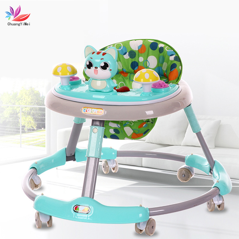 Baby Walker With Wheels Andador Walkers For Kids Car Toddler Walker For Kids Learning Baby Walker Music Balance Andador M087