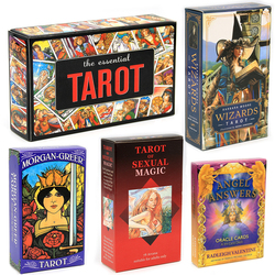Wizards Tarot Card of Sexual Magic Essential Tarot The Angel Answers Oracle Cards Island Time Wellness Love Deck Game Toy