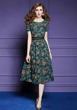 Zuoman для женщин; Сезон лето; Элегантное кружевное платье Женская