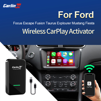 Carlinkit 2.0 CarPlay Wireless Adapter for Ford Focus Escape Fusion Taurus Mustang Fiesta Sync3 Edge Everest Fiesta Kuga Taurus image