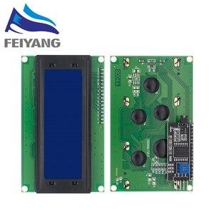 Image 2 - 10PCS LCD2004 + I2C 2004 20x4 2004A כחול/ירוק מסך HD44780 אופי LCD/w IIC/I2C סידורי ממשק מתאם מודול