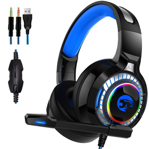 Image 2 - JOINRUN PS4 Gaming Headphones Stereo RGB Marquee Earphones Headset with Microphone for New Xbox One/Laptop/PC Tablet Gamer