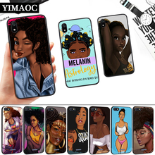 Black Girl Cartoon Silicone Soft Case for Redmi 4A 4X 5 Plus 5A 6 Pro 6A 7 7A S2 Go K20 Note 5A Prime 8 ariana grande lovely cartoon silicone soft case for redmi 4a 4x 5 plus 5a 6 pro 6a 7 7a s2 go k20 note 5a prime 8