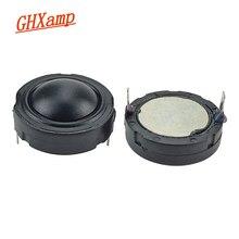 GHXAMP 1.5 אינץ 40mm הטוויטר רמקול 4ohm 30W 25 ליבה HifI רמקול טרבל כיפת משי סרט Neodymium עבור 2 דרך רמקול DIY 2pcs