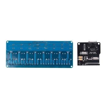 New Ethernet Control Module Lan Wan Network Web Server Control Module RJ45 Port And 8 Channel Relay Control Module