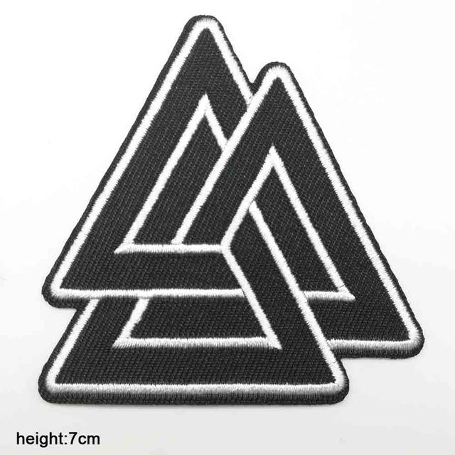 Morals Iron On Embroidery Patch