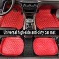 Универсальные автомобильные коврики CARFUNNY для RHD/LHD BMW 3 5 7 серии F20 E90 F30 E60 F10  автомобильные стильные Ковровые Коврики