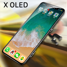 Voor Iphone X Lcd scherm Vervanging Iphone 11 Pro Max Xr Display Digitizer Programmeur Touch Screen Vergadering Vervanging 3D Touch