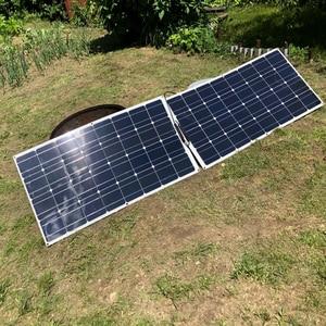 Image 5 - Boguang Brand Solar panel 2pcs 100w 200W גמיש פנל סולארי תא מודול מערכת RV רכב הימי סירת בית שימוש 12V /24V DIY ערכת פנלים סולאריים painel solpanel