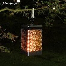 Solar Lantern Lights Flame…
