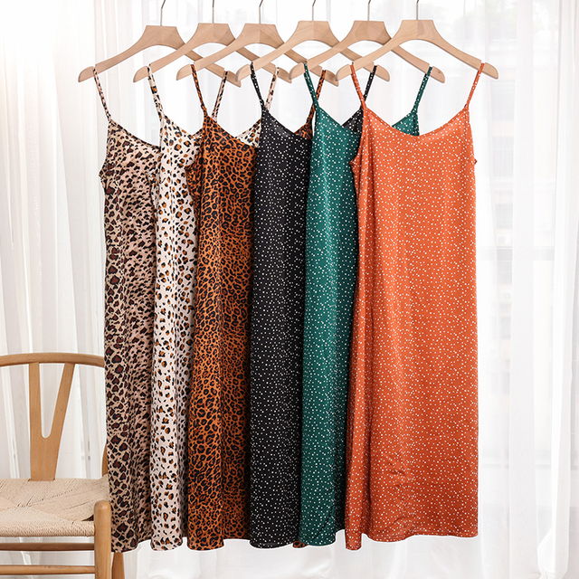 Summer Spaghetti Long Dress 6