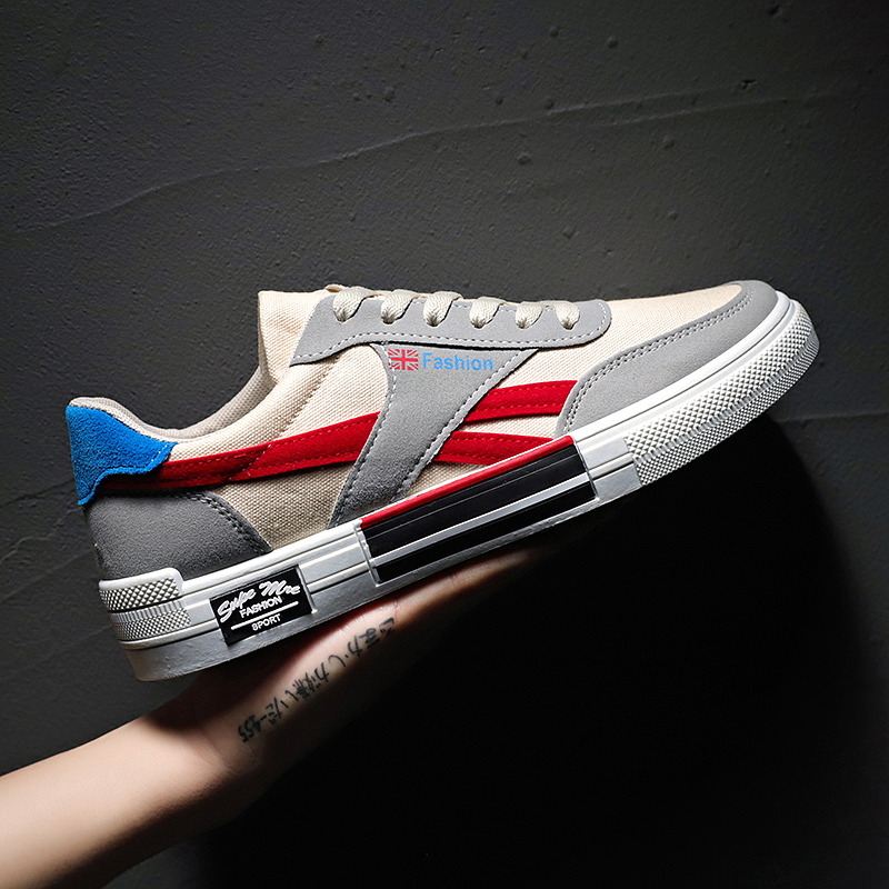 2020 New Spring Low-top Canvas Shoes 39-44 Breathable Trend Casual Urban Fashion Shoes Men's Shoes Sports Shoes Tennis