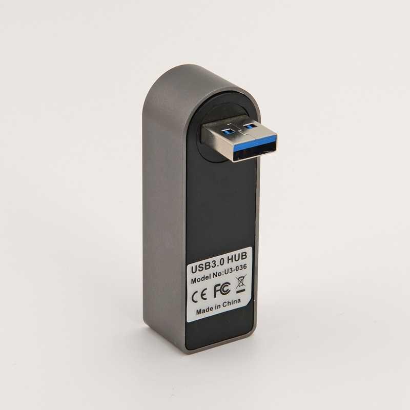 Высокоскоростной 3 порта USB концентратор 3,0 USB сплиттер адаптер для ноутбука/планшета компьютера ПК периферийные устройства