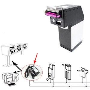Image 3 - Платежное устройство MDB для ПК, Конвертер RS232 (поддержка MDB, устройство для проверки монет, акцептор, безналичный перевод и устройство для долларов США)