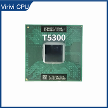 Intel core 2 duo t5300 sl9we 1.7 ghz processador cpu duplo núcleo 2m 34w soquete m/mpga478mt