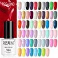 ROSALIND гель лак для ногтей чистый цвет УФ-гель все для маникюра маникюр гель лак для ногтей для дизайна ногтей