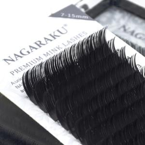 Image 2 - Nagaraku Wimpers Make Magnetische Wimpers 4 Cases/Lot 16 Rijen 7 15 Mix Hoge Kwaliteit Zacht Individuele Wimper valse Wimper