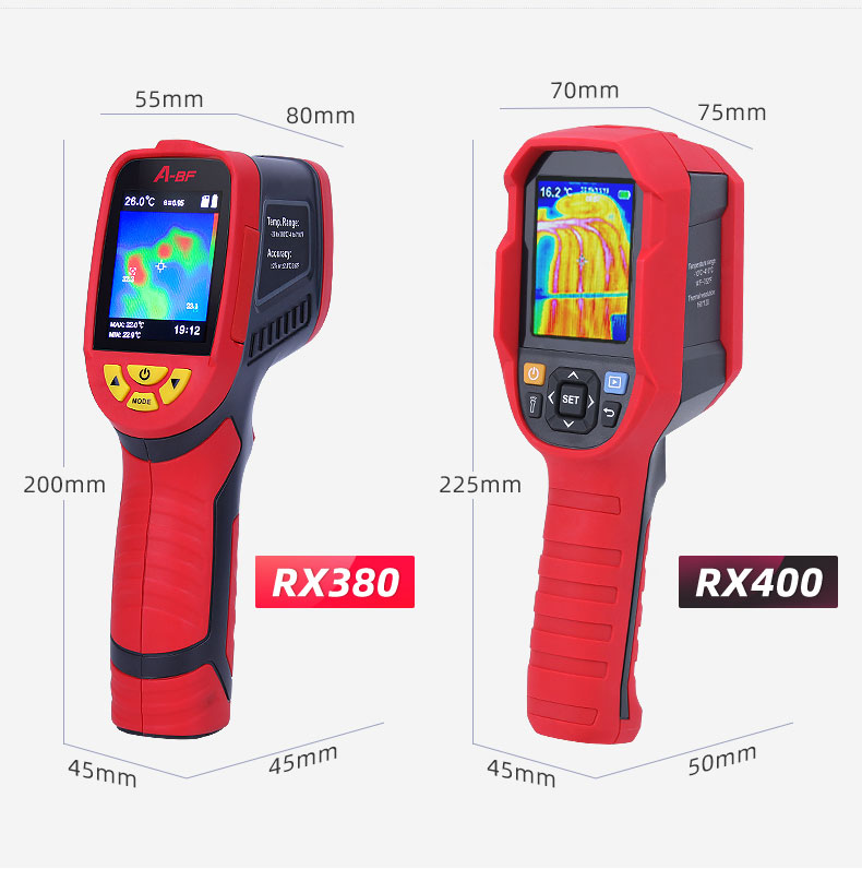 Digital Thermal Camera With A USB Cable Connected To Display For Temperature Measuring 19