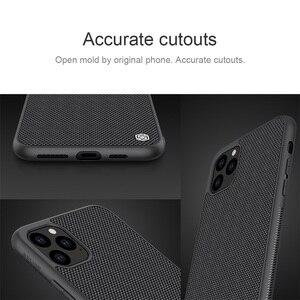 Image 4 - Apple iPhone 11 Pro Max durumda NILLKIN dokulu naylon fiber kılıf kaymaz ve ışığı arka kapağı iPhone 11 iPhone 11 Pro