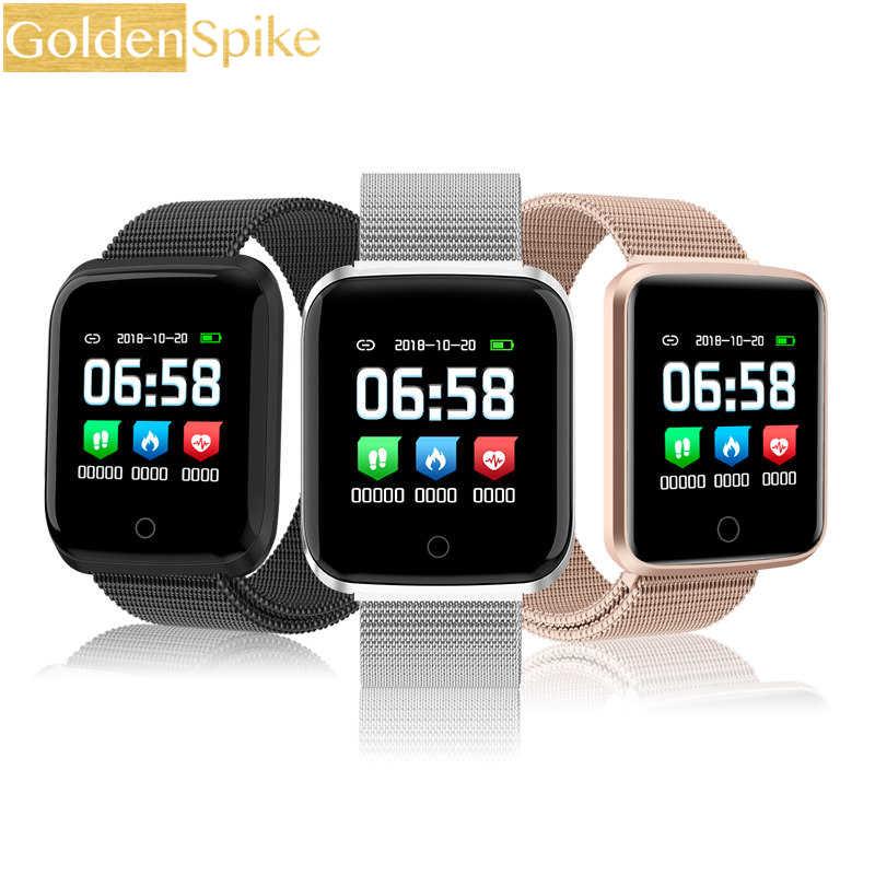 Reloj inteligente B57/P80/P70/F9 IP67 a prueba de agua, monitor de ritmo cardíaco, modelo deportivo múltiple, rastreador de fitness para hombre las mujeres de vestir