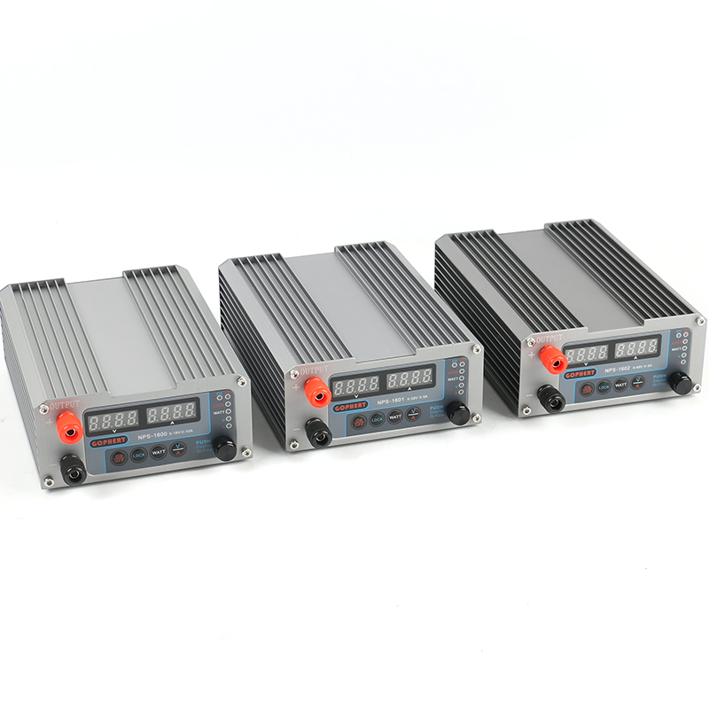 CPS-3205 New Version NPS Series Mini adjustable Digital DC regulated power supply 1600/1601/1602 32V/5A 60V/3A 16V/10A