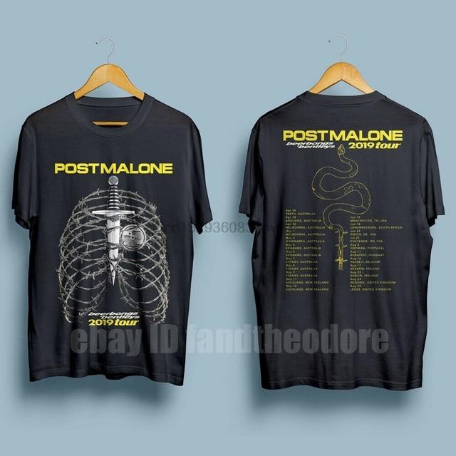 Post Malone Beerbongs Bentleys Tour 2019 T-Shirt  1