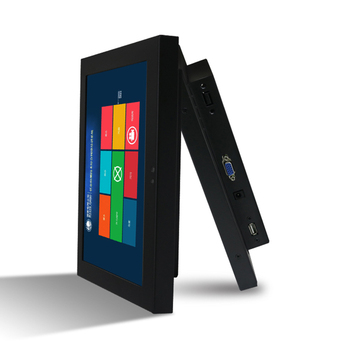 10, 12, 15, 17, 19, 21 inch waterproof embedded capacitive industrial no touch screen panel