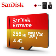 SanDisk – carte Micro SD A2, 32 go/64 go/400 go/256 go/128 go/go, Extreme, Ultra SD, 4K, V30, TF, Flash