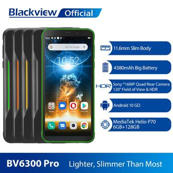 BLACKVIEW 2020 nuevo BV6300 Pro Helio P70 6GB + 128GB Smartphone 4380mAh Android 10,0 teléfono móvil NFC IP68 impermeable teléfono resistente