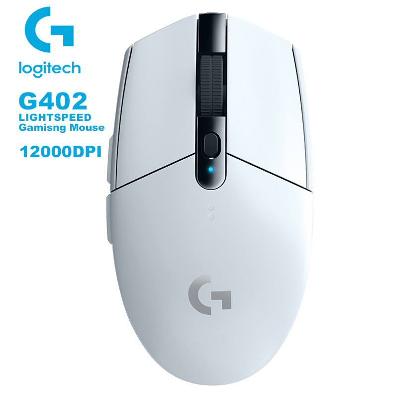 Logitech G304 LIGHTSPEED Gaming Mouse With HERO Sensor 12000DPI AA Battery Wireless Mouse 10X EFFICIENCY For Windows Mac