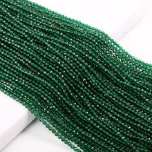 Natural Stone Beads Small section Bead Emeralds 2 3 mm Loose