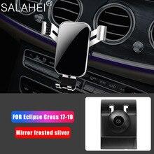 Alta qualidade suporte do telefone do carro para mitsubishi eclipse cruz 2017 2018 2019 suporte do carro do telefone móvel suporte de ventilação ar montar suporte