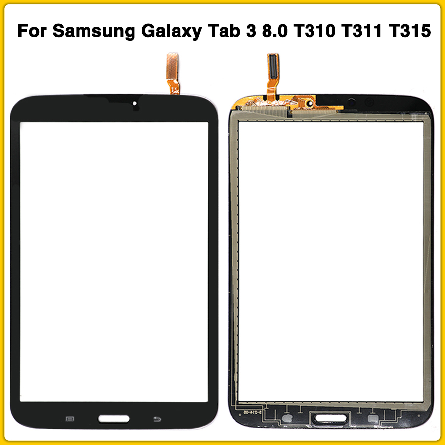 NEW TouchScreen For <font><b>Samsung</b></font> Galaxy Tab 3 8.0 T310 <font><b>T311</b></font> T315 SM-T310 SM-<font><b>T311</b></font> Touch Screen Panel Digitizer Sensor <font><b>lcd</b></font> Front Glass image