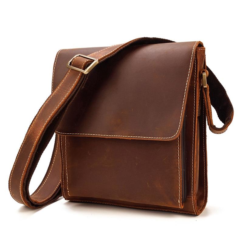 Men's One Shoulder Bag Sloping Bag Flipshoulder Bag