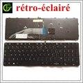 Клавиатура с подсветкой для HP ProBook 450 G3 455 G3 470 G3 450 455 470 G4 650 655 G2 G3 NSK-CZ4SV 0F 831021-051 FR