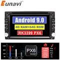 32669808886 - Eunavi Universal 2 Din Android 9 coche Multimedia Dvd Radio Estéreo reproductor 2din Auto GPS Pantalla táctil IPS 4G 64GB TDA7851 8 núcleos