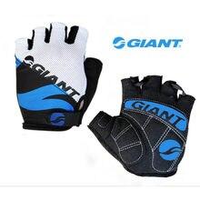 Ciclismo gigante anti-derrapante anti-suor homem todas as luvas de dedo respirável anti-choque luvas esportivas mtb bicicleta luva