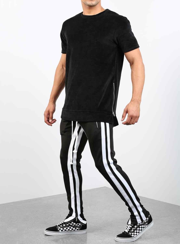 Männer reine farbe Frühling Herbst Mode Business Casual Lange Hosen Männlichen Elastische Gerade Formale Hosen Plus Große Größe 28-40