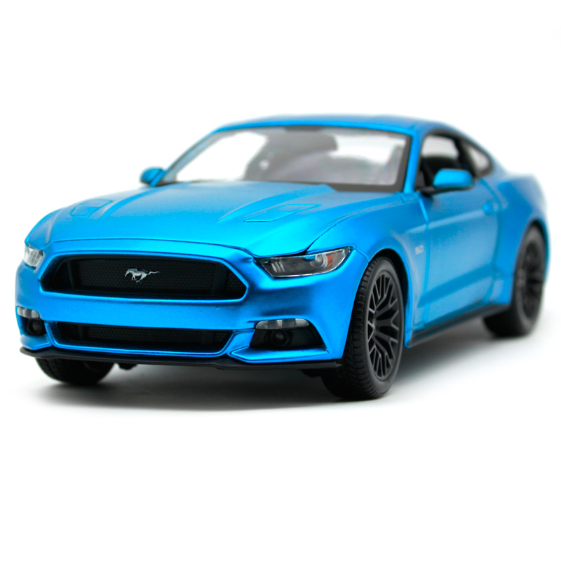 Maisto 1:18 2015 ford mustang gt red yellow blue black car diecast cooling car toy model for men collecting car models 31197