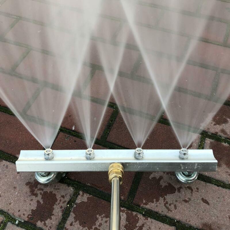 2 arten 4 Spray Düse Wasser Sauber Waffe 30Mpa Hochdruck Auto Unter Körper Chassis Washer Startseite Straße Garten Reinigung cisinfection