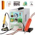 SUNKKO 709AD + точечный сварочный аппарат 3 2 кВт автоматический импульсный аккумулятор 18650 точечный сварочный аппарат с паяльником ручной свароч...