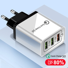 OLAF 18W Quick Charge 3 0 EU US 5V 3A Fast Charging Mobile Phone USB Charger For iphone Huawei Samsung Xiaomi LG Travel Charger cheap 5V 3A ROHS Charger For Phone MEIZU Nokia SONY Motorola Other Blackberry Lenovo APPLE Universal 100-240V 0 15A quick charge 3 0 USB Charger