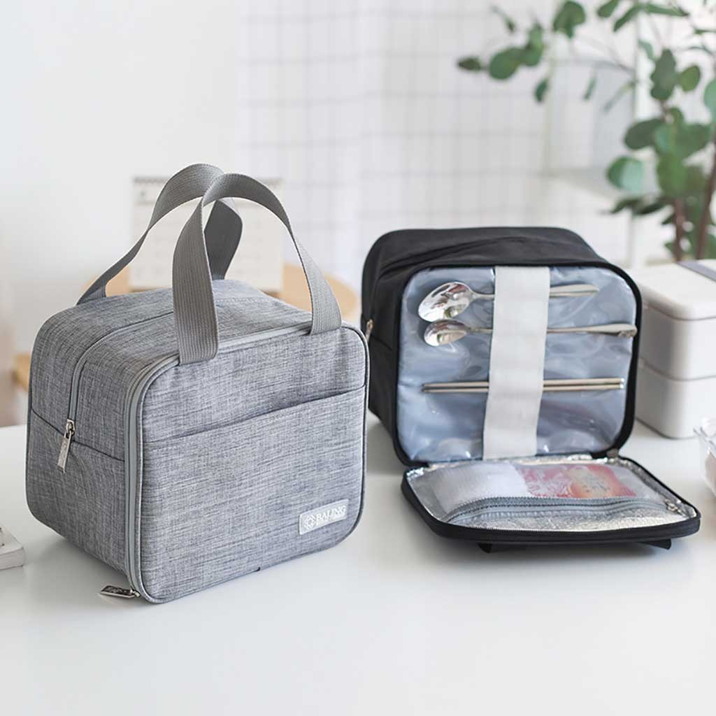 Portable Lunch Box Bento Tote Storage Bag Case Picnic Organizer Lunch Holder Lunch Storage Container Lunch Box Bolsa Termica#GEX
