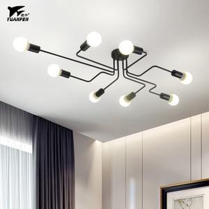 Image 2 - 現代のledシーリングシャンデリア照明リビングルームベッドルームシャンデリアクリエイティブホーム照明器具送料無料
