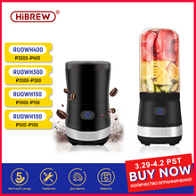 HiBREW 2-in-1 portable Bean grinder and  juice machine