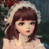 BJD 1/3ball jointed Doll gifts for girl Handpainted makeup fullset Lolita/princess doll with clothes ALICE