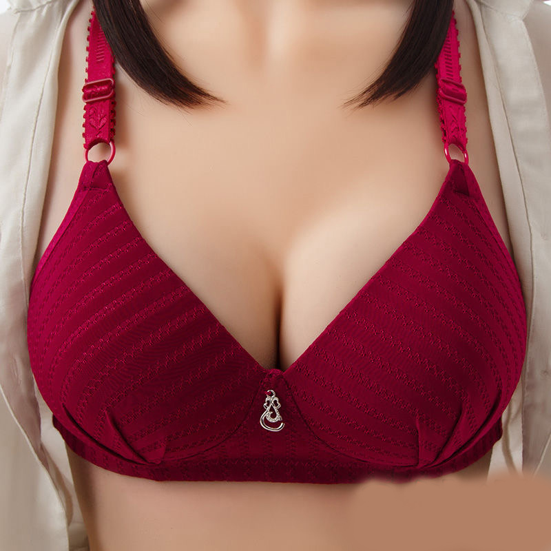 Wholesale Lot Women's Clothing Bra Bulk Big Cup Push Up For Big Breasted 3/4 Cup Sexy Intimates Wirefree Underwear Bras 2020 New