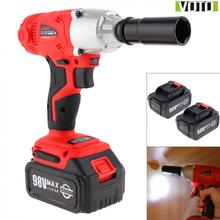 Electric-Wrench VOTO Power-Display-Light Cordless Lithium-Batteries Impact with Max-2