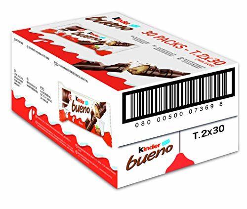 Kinder Bueno Chocolate Bars 44 G (Pack Of 30)
